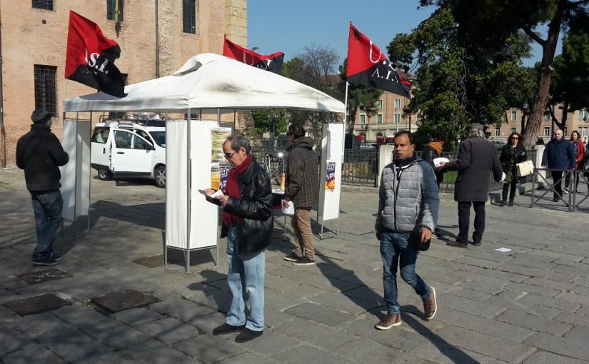 In piazza il 18 marzo per lo sciopero generale!