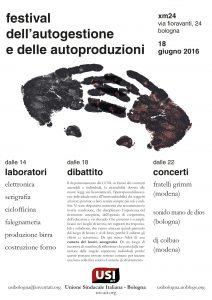 18 giugno USI Bologna